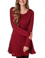 f8515ec6068 Wholesale plus size sweater dress online - Autumn and Winter Women Dresses  Plus Size Long sleeved