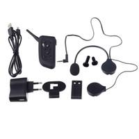 Wholesale Riders Cars - DK118-V6 Bluetooth V2.0 + EDR 1-to-6 Intercom Interphone 1000m Car Motorcycle Helmet Wireless Headphones 6 Riders
