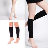 Wholesale wholesale polka dot socks - Hot Sale Compression Stockings Women Men's Lower Leg Pressure Long Sock strong slimming bandage Compression socks free shipping