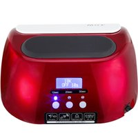 Wholesale 18k Led Nail Lamp - Tools Dryers 18K 48W LED UV Lamp With LCD Display Screen Professional Nail Dryer Curing UV LED Gel Nail