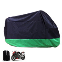 Wholesale Red Bicycle Fabric - Motorcycle Accessory Red Silver Green Big Size XL Waterproof Electric Bicycle Covers Motor Protector Rain Coat