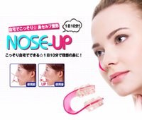 Wholesale Nose Up Lifting - Fashion Nose Up Shaping Shaper Lifting Bridge Straightening Beauty Nose Clip Face Fitness Facial Clipper corrector Free DHL