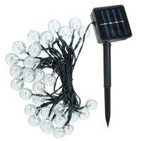 ingrosso luci solari led globo-30 LED Solar Light Bubble Globes Pannello solare Powered String Fata Luce Led da giardino Per Outdoor Decorazioni natalizie