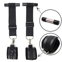 Wholesale Door Sex Swings - Fetish Bondage, Stand-Up Sex Over Door Closet Jam Stopper Swing,Hand Cuffs Straps,Sex Toys For Couple