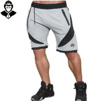 Wholesale Aesthetic Shorts - Wholesale-New Muscle Brothers Gym Aesthetics Men's Sports Breathable And Fitness Jogging Shorts Workout Cotton Skinny Professional Shorts