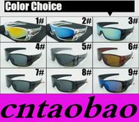Wholesale Girls Price - Discount Price MOQ=20pcs HOT Sunglasses Men's Bat Rectangular Sunglasses wolf New Fashion Sunglasses Time Limited for men Sports Fashion