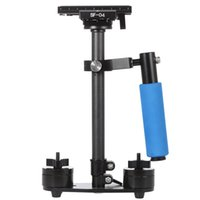 Wholesale Video Camera Quick Release Plate - Carbon Fiber Mini Handheld Handle Grip Video Camera Stabilizer with Quick Release Plate for Canon Nikon Sony Pentax DSLR Camcorder DV