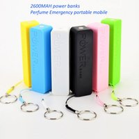 Wholesale Iphone 4s Powerbank - 2600mAh PowerBank Emergency USB Portable External Battery Charger Universal for smart phones iPhone 6 5 4S 4 Samsung Galaxy