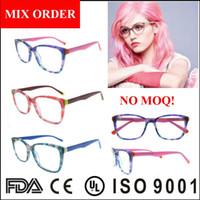 Wholesale China Eyewear Frame - women fashion eyewear,colorful acetate optical frame glasses made in china,newest trendy optical frame 2017
