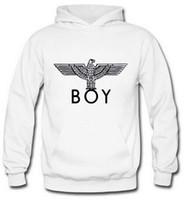 meninos streetwear venda por atacado-2020 Tide marca Eagles Boy Londres Brasão Hoodies Fishion Rua Impresso Eagles Cotton Boy Londres camisola Marca Hoodies E-1