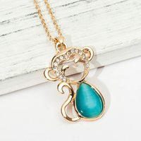 Wholesale Vintage Ethnic Sweater - 2017 Crystal Necklace for Women Gypsy Vintage Statement Ethnic Bohemia Alloy Maxi Silver Color Circle Pendant Necklace Fashion Sweater Chain