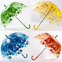 Big Cute Bubble Deep Dome Regenschirm Klatsch Mädchen Wind Widerstand 4 Farben Arched PVC Umbrella 3002013