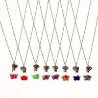 diy driftflaschen großhandel-2017 neue Kristall Blumen Wishing Bottle Drift Flasche Herz Anhänger Halsketten Glas Halskette für Frauen DIY schmuck