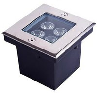 Wholesale Underground Light Square w W High Power LED optional colorY WW NW CW AC85 V bar stage garden floor outdoor lighting