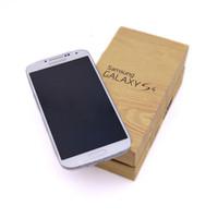 оригинальное четырехъядерное ядро оптовых-Оригинальный отремонтированный Samsung Galaxy S4 i9500 5.0 дюймов 13MP камера Quad Core RAM 2G ROM 16GB разблокированный телефон