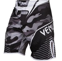 Wholesale Muay Thai Boxing Shorts - Quality goods--MMA M1 Camo grey Hero fight short Black Red Muay Thai Boxing shorts