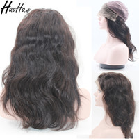 Wholesale Lace Front Wigs Promotions - Virgin Brazilian Hair Lace Front Human Hair Wigs For Black Women Hot Promotion Cheap Price Free Shipping Fast Delivery Accept Customized