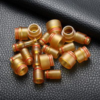 Wholesale E Cigarettes Mouth Pieces - PEI Drip Tip 510 New PEI Raw Material Wide Bore Mouth Piece 810 tfv8 E Cigarette Fit 510 Atomizers TFV12 Kennedy