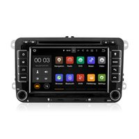Wholesale Gps For Vw Tiguan - Android 5.1 Car DVD Radio Multimedia Player With Wifi DAB CanBus for VW Golf 5 6 Tiguan Caddy Polo V 6R SEAT