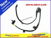 Wholesale Parts Hyundai Elantra - ABS Wheel Speed Sensor Left 59810-2L300 For Hyundai Elantra 2007-2012 2.0L 1.8L