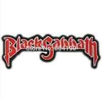 """Wholesale Heavy Sewing - 4.7"""" BLACK SABBATH Music Band Punk Rock Embroidered NEW IRON ON and SEW ON Patch Heavy Metal Custom design patch available"""