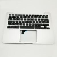 "Wholesale Topcase Macbook - UK Topcase Keyboard For macbook Pro Retina 13"" A1502 Top Case Palmrest With UK Keyboard 2015 2016 Years"