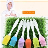 Wholesale High Quality Silicone Butter Brush BBQ Oil Cook Pastry Grill Food Bread Basting Brush Bakeware Kitchen Dining Tool