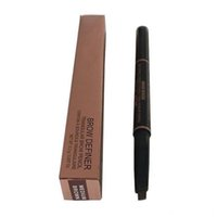 Wholesale Full Spiral - Double Eyebrow Pencil Free Cutting Automatically Spiral Skinny brow Enhancer Pencil Darkbrown Makeup Tools