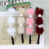 Wholesale Hair Rubber Band Baby - Infant Baby Girl Princess Rhinestone Headband Hair Band Hoop Jewelry Crystal Tiara Rubber Accessories