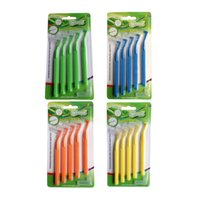 Adults orthodontic tooth brush - New Dental Care Cleanpik Colorful Push Pull Orthodontic Interdental Brush Teeth Cleaning Toothpick Brush Teeth Cleaning Toothpick Brush