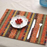Wholesale Restaurant Essentials - Wholesale-Quality home essential double deck mat table cloth ethnic style restaurant mat