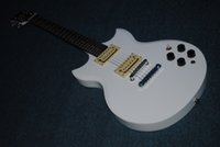 Wholesale Electric Double Cutaway - Wholesale- 2016 New + Factory + Yamaka SG 200 double cutaway electric guitar mother of pearl headstock inalys SG 200 guitar free shipping