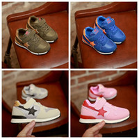 Wholesale Wholesale Cheap Girl Shoes - children sports shoes spring autumn kids athletic shoes star boys girls casual shoes cheap factory price wholesale