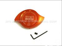 Wholesale bar radiators - Wholesale- Orange1.3 BAR Universal Fit Aluminum HK* Radiator Cap Protection Cooler Add-on Cover Cap