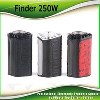 Original Think Vape Finder 250W Thinkvape 250 TC Box MOD avec batterie à puce DNA250 Puissante Vaping Gear avec fil 510 100% authentique 2256003