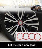 Wholesale 17 Wheel Covers - 17 Honda crown wheel hub cover decorative ring URV aluminum alloy wheel logo patch exterior modification frame