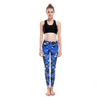 Wholesale Good Quality Yoga Pants - Wholesale- 2017 New LOVE SPARK Blue Star Fitness Running Pants For Women Good Quality Elastic S To 3xL Women Gym Yoga Jogging Trousers