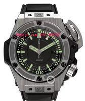 Wholesale Unique Steel Bracelet - Luxury Watches Unique Mens Watches 48mm Automatic Black Dial Watch Rubber Bracelets Sports Watch And Outdoor Men Watch