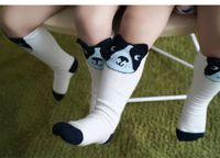 Wholesale Cute Animal Baby Booties - Wholesale Cute dog Cartoon Cotton Baby Socks Baby Booties Children Socks Kids Knit Knee High Socks girls boys Sock Toddler wear A900