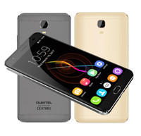 """Wholesale Charge 4g - Original OUKITEL K6000 Plus 4G 5.5""""FHD MT6750T Octa Core 4GB+64GB 6080mAh 12V 2A QC Charge 16MP Front Touch ID Smartphone"""