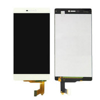 Wholesale lcd dot display - High Quality For Huawei P8 LCD Retina Display 100% Tested No Dead Pixel No Dots Touch Screen Assembly Black & White &Gold Free Shipping