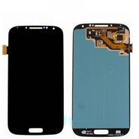 Wholesale galaxy s4 lcd black - 2017 hot AAA For Sasmsung Galaxy S4 LCD Touch Screen Digitizer LCD Display black With Frame
