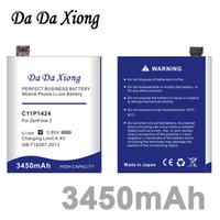ingrosso asus batterie-Da Da Xiong 3450mAh C11P1424 Batteria per Asus Zenfone 2 ZE551ML ZE550ML 5.5 pollici Z00AD Z00ADB Z00A Z008D
