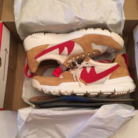spring crafts - 2017 Tom Sachs x Craft Mars Yard TS NASA Men s Running Shoes Fashion High Quality Craft Mars Yard Sport Shoes Size With Box