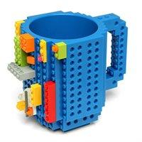 ce jouets pour adultes achat en gros de-350 ml Blocs de construction Tasse, bricolage tasse Adulte assemblée Tasse de Café Jouets / Puzzle Bouteille D'eau de Noël jouet Tasse cadeau
