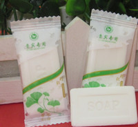 Wholesale Wholesale Soaps For Hotels - Free Shipping 100pieces lot 8g Small Hotel Travel Soap Independent packing