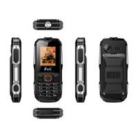 Wholesale Gsm Waterproof Rugged - E&L K6900 Keyboard Mobile Phone Waterproof Shockproof IP68 GSM Keyboard Mini Key Telephone Rugged Phone 2000mAh FM Radio