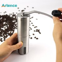 Wholesale Stainless Steel Manual Grinder Coffee - New Convenient Stainless Steel Manual Coffee Grinder Detachable Easy to Assemble Coffee Machine Portable Coffee Mill