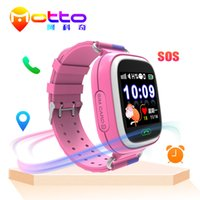 Wholesale Cell Phone Mobile Wrist Watch - Kids Smart Watch Q90 WIFI LBS GPS Tracker Cell Mobile Phone Wrist Smart Watch Best gift for Children