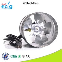 Wholesale V Inch Good performance Reversible Hydroponic Duct Fan with Plastic inline Fans for grow tent with USA standard plug